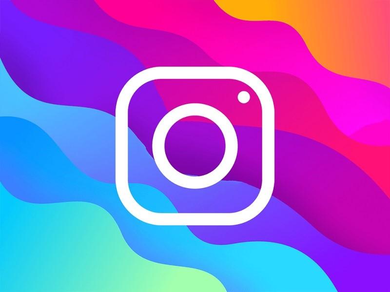 تبلیغات اینستاگرام در رنگ های مختلف